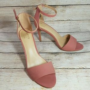 NEW Apt. 9 Ankle Strap Heels Pink 10